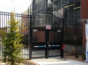 Steel Security Gate