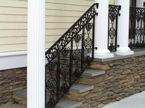 Northeast Fence & Iron Works - Ornamental Iron Railing Image