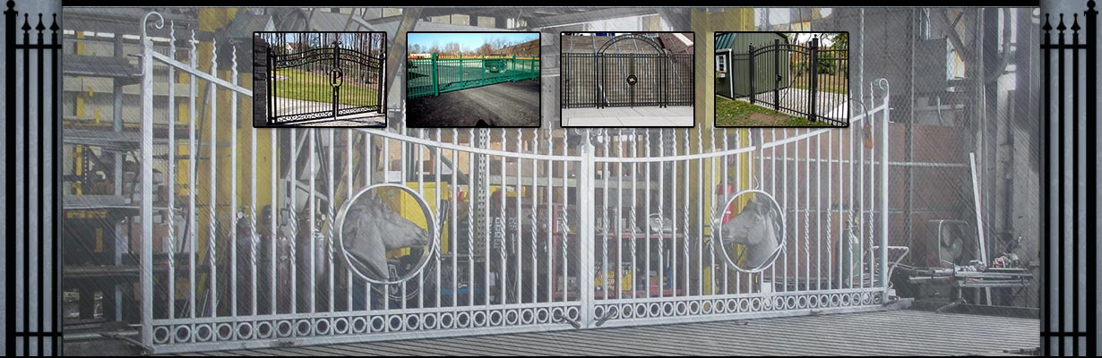 Northeast Fence & Iron Works -Gates Slide Image