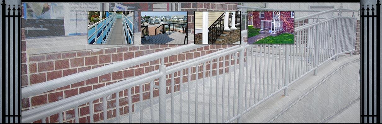 Northeast Fence & Iron Works - Railings Slide Image