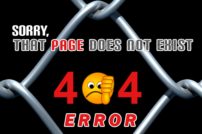 Northeast Fence & Iron Works - 404 page error image