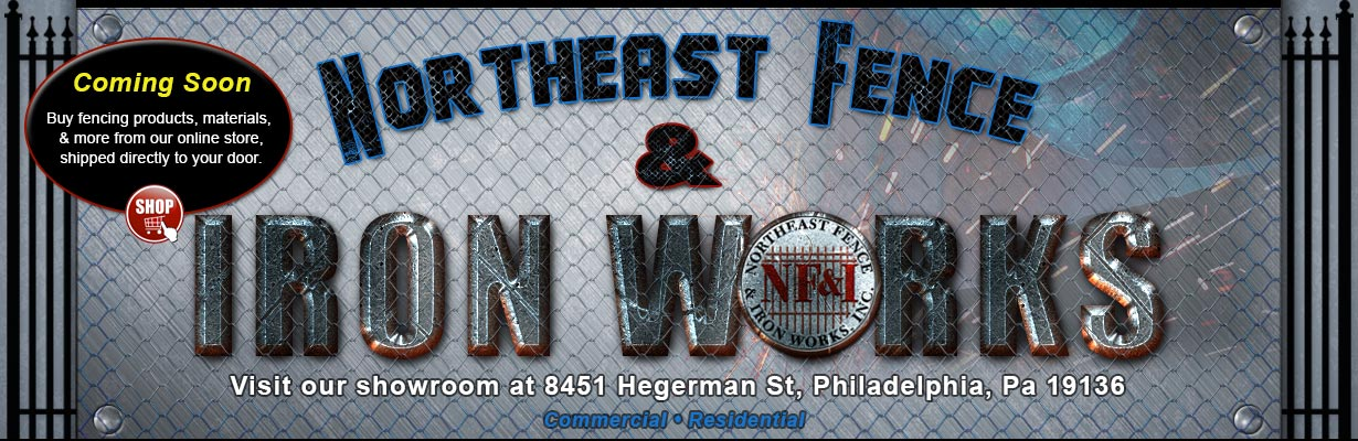Northeast Fence & Iron Works - Welcome Slide Image