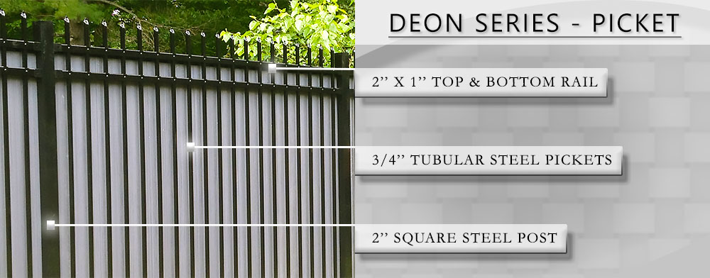 Deon Series Fence Attributes