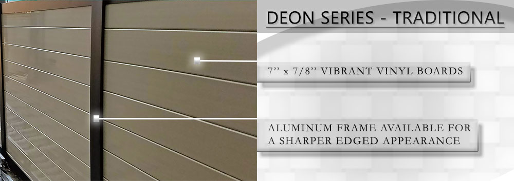 Deon Series Traditional Fence